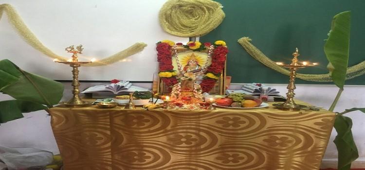 Sharada Pooja held on 3-02-2017