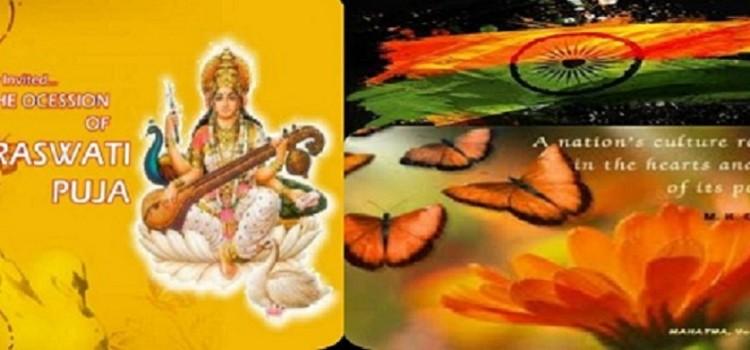 Ethnic Day  Celebration on 3 Feb 2017 and Saraswathi Pooja