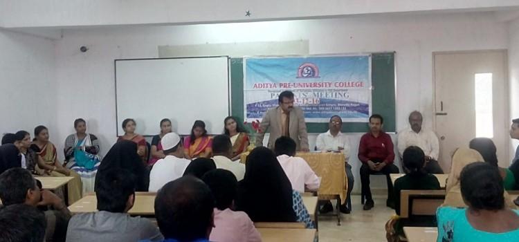 Parents' Meeting held on 03-Dec-2016